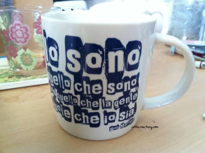 Catts buongiorno mug