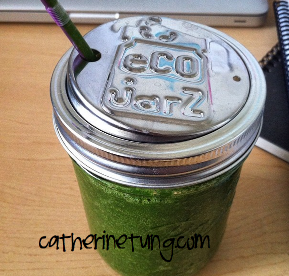 Green smoothie watermarked